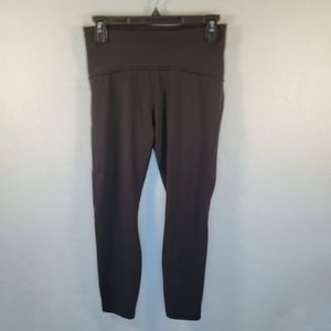 Lululemon Cropped Leggings w/Mesh Panels